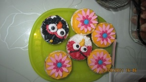 AB cupcake
