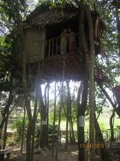 An Orang Asli's house