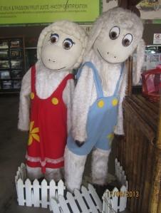 UK Farm Mascot